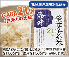 海味 能登海洋深層水 発芽玄米